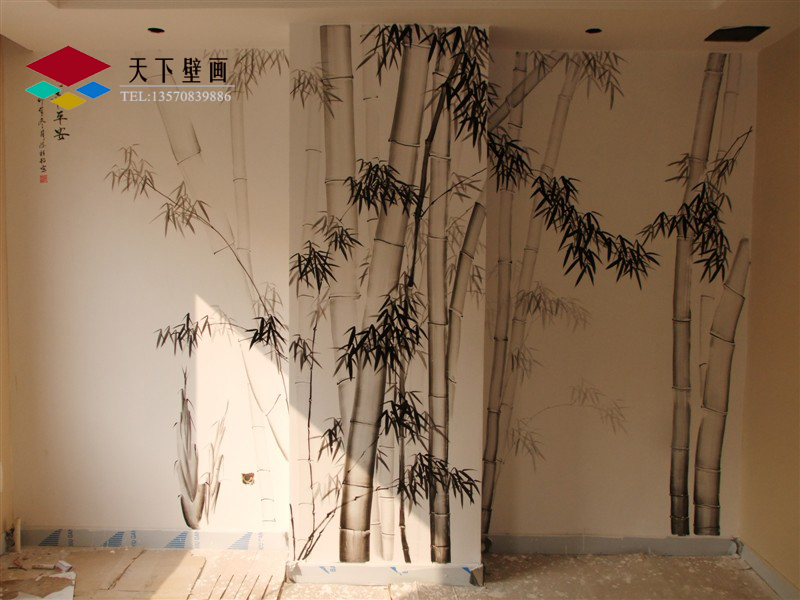 家庭墙绘,家居手绘壁画 手绘壁画,酒店壁画,墙体彩绘