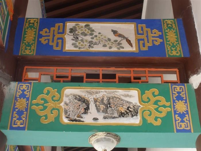 古建筑彩绘,和玺彩绘,旋子彩绘,现代彩绘,苏式彩绘,天花,古典壁画等等图片